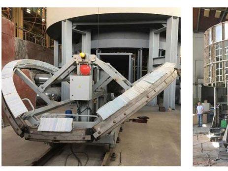 Испытания оборудования для восстановительной термообработки  реактора Балаковской АЭС