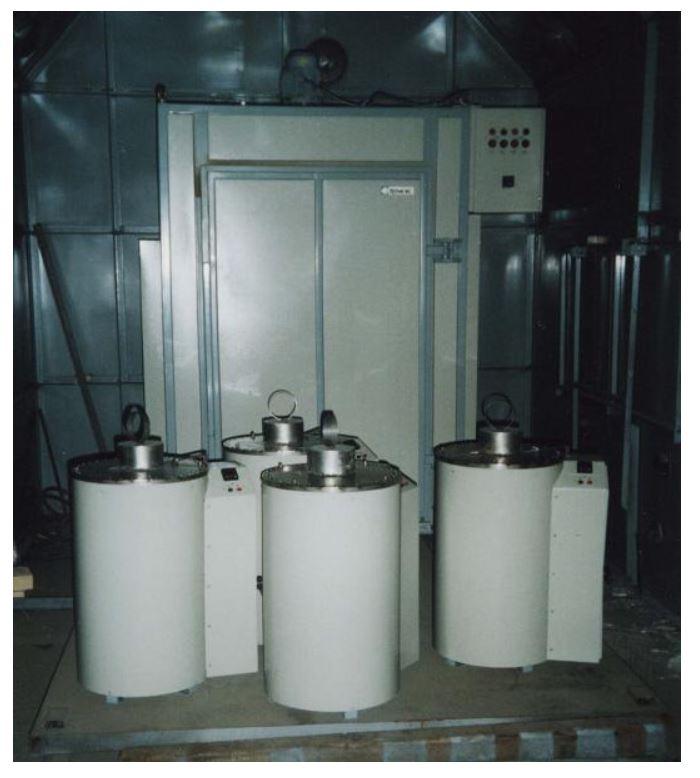 Все изготовленные электропечи проходят горячие испытания в камере специально оборудованной для измерений и контроля технических параметров.